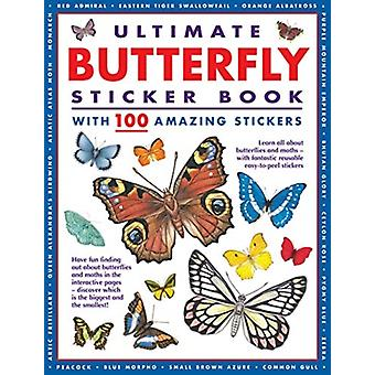 Ultimate Butterfly Sticker Book by Armadillo Books