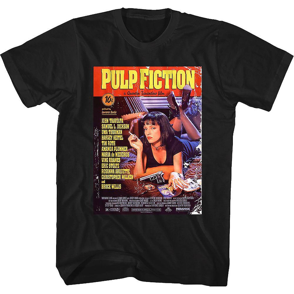 Vintage Film Poster Pulp Fiction T Shirt