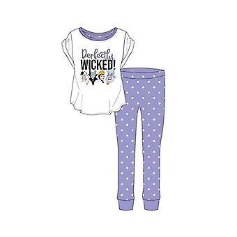 Women's Disney Roistot Täysin Wicked! Pyjama-setti