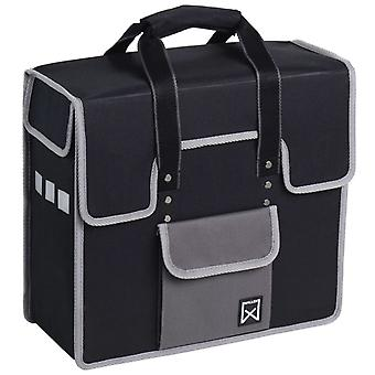 Willex Bicycle Bag 18 L Black and Grey 10102