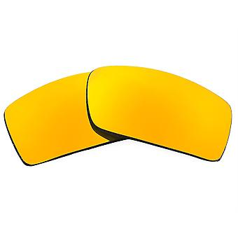 Polarized Replacement Lenses for Oakley Gascan Sunglasses Anti-Scratch Gold