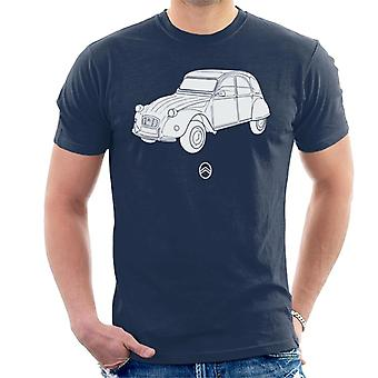Citro�n 2CV Angle For Dark Men's T-Shirt