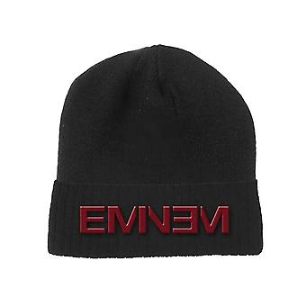 Eminem Beanie Hat Logo new Official Black Unisex