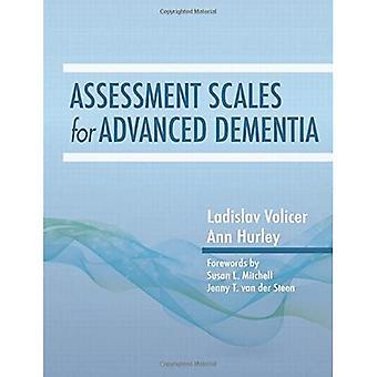 Beoordelingsschalen voor geavanceerde dementie