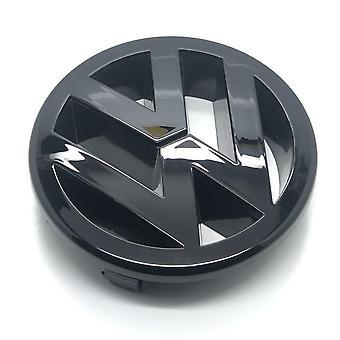 لمعان الأسود فولكس فاجن جولف MK5 الجبهة جريل غطاء شارة شارة مشوا 125mm 2003-2010