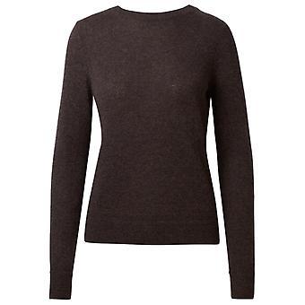 360 Cashmere 42253espr Women's Brown Cashmere Sweater