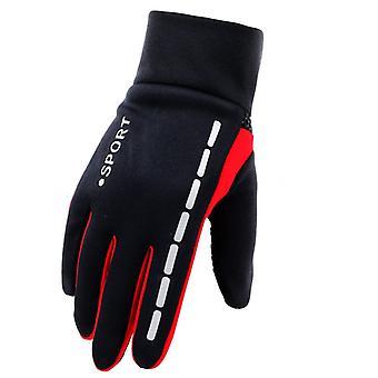 Herren Winter Warm Handschuhe Therm mit Anti-Rutsch elastische weiche Futter Handschuhe