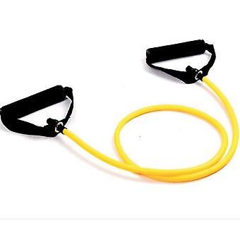 One Word Pull Rope Elastic Rope Latex Puller Arm Strength Chest Expander Indoor Sports Fitness Yoga