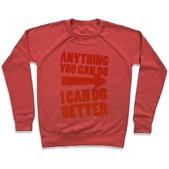 Better than you (training pair, part 1) crewneck sweatshirt