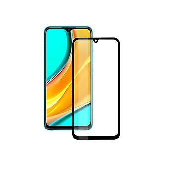 Tempered Glass Mobile Screen Protector Xiaomi Redmi 9A, 9AT, 9C KSIX Full Glue 2.5D
