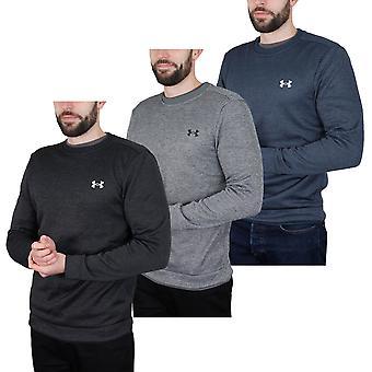 Under Armour Mens UA Water Repellent Fleece Lightweight Crew Sweater