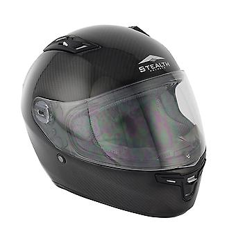 Stealth HD117  Adult Full Face Helmet - Carbon