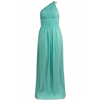 Morgna One Shoulder Chiffon Gown