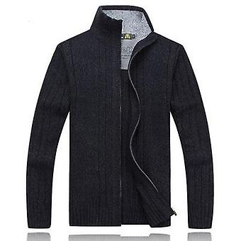 Men's Winter Sweater, Casual Knitted Cardigan Jackets, Thick Warm Clothing