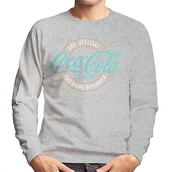 Coca Cola The Official Soft Drink Of Summer Men's Sweatshirt