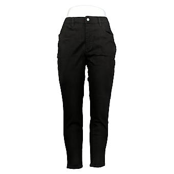 G By Giuliana Women's Petite Jeans G-Sculp 101 Skinny Black 663-669