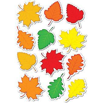 Die-Cut Magnetic Fall Leaves, 12 Pieces