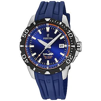 Festina the originals f20462/1 Watch for Analog Quartz Men with Silicone Bracelet F20462/1