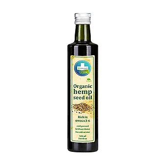 Organic Food Hemp Oil 500 ml of oil