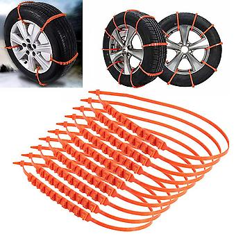 Anti-slip Design Car Suv Plastic Winter Tyres Wheels Snow Chains Durable
