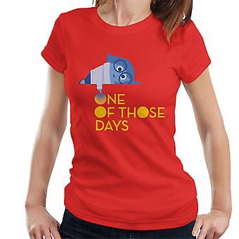 Pixar Inside Out Sadness Jonain päivänä Women's T-paita