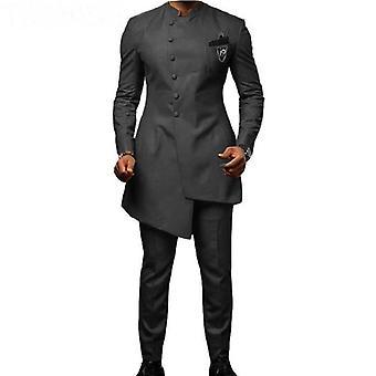 Vőlegény ruhák Első gomb Best Man Prom Blazer ( Set 2)