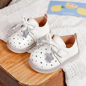 Baby Spring Autumn Flat Leather Footwear Single Soft Bottom Princess Sneakers