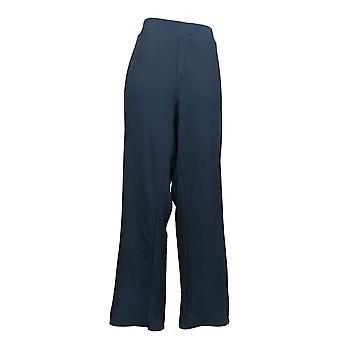 DG2 Af Diane Gilman Women's Petite Pants Stretch Boot Cut Black 708528