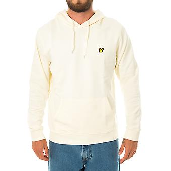 Sweat-shirt homme lyle & scott ls pull hoodie ml416vtr.w120