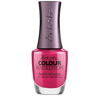 Artistic Colour Revolution Professional Reactive Hybrid Nail Lacquers - V.I.Pink Room 15ml (2303086)