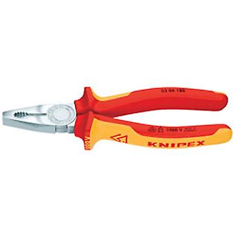 Knipex 81204 180mm VDE Fully Insulated Combination Pliers