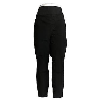 LOGO by Lori Goldstein Petite Leggings Pull On Black A386582