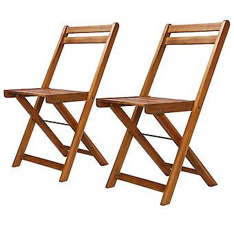 vidaXL ulko bistro tuolit 2 kpl. massiivipuu acacia