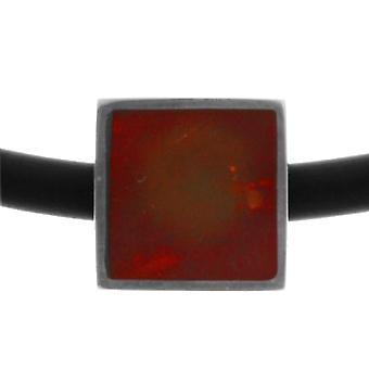 InCollections K230200095580 - Bead unisex with amber, sterling silver 925