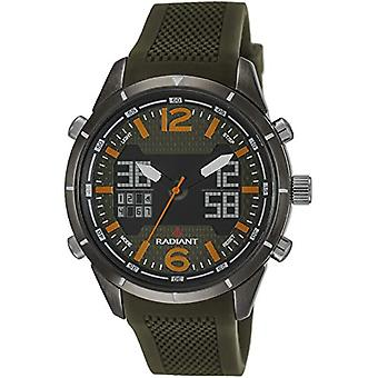 Radiant Analog-Digital Watch Men's Quartz with Rubber Strap RA457602