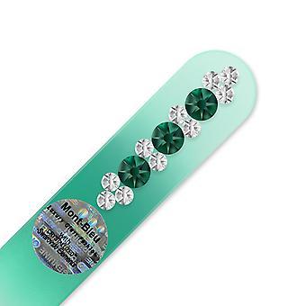 Geldbörse Größe Nagelfeile ORC-S - Smaragd - Kristall
