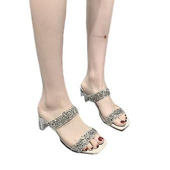 The Chunky Sandals Are Stylish And Comfortable