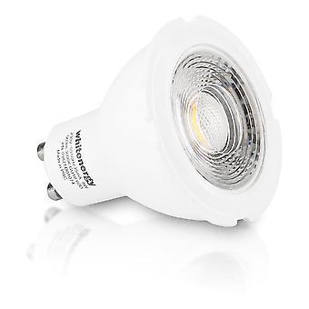 Whitenergy LED Bulb | 1X Cob LED | Mr16 | Gu10 | 8W| 230V | White Warm