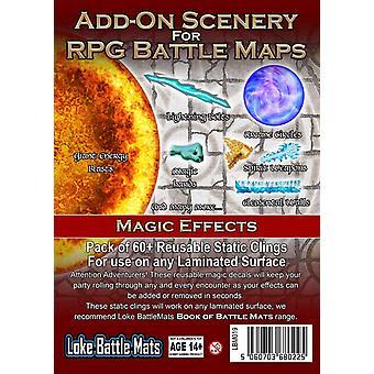 Scènes complémentaires: Effets magiques