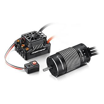 Hobbywing Combo Ezrun Max8 Esc (Xt90 Plug) 4268-2600Kv Motor