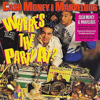 Cash Money &Marvelous - Hvor er festen på Vinyl
