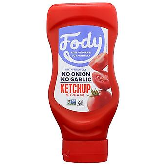 Fody Food Co Ketchup Tomato, Case of 10 X 16.8 Oz