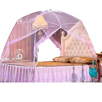 Swotgdoby Yurt Mosquito Net For Bed Canopy,easy To Install,2 Entries