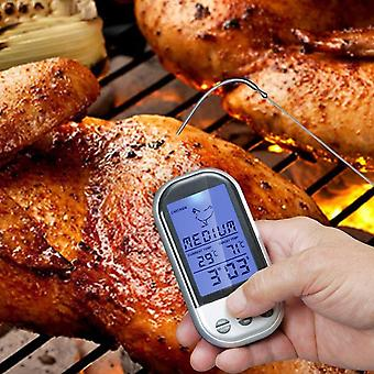 Wireless Remote Smoker Meat Food Thermometer Kitchen Cooking Oven Bbq + Dock
