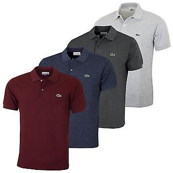 Lacoste Herre 2021 Original Broget kortærmet bomuld polo shirt