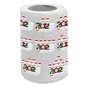 Печатное бумажное полотенце Рождество Творческое бумажное полотенце Бытовая туалетная бумага