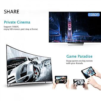 Hd Av Dual Output Q1 Dual Core Wifi Display Receiver Hdmi Android Tv Stick