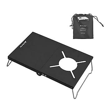 Folding Camping Table Portable Gas Stove Stand Outdoor Mini Picnic Desk For Fishing Hiking