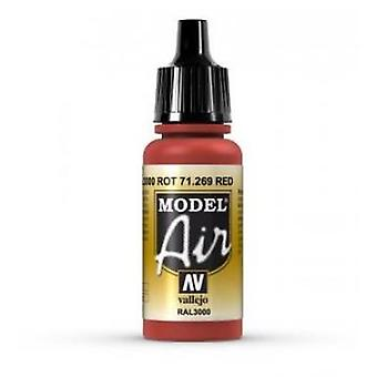 Vallejo Model Air 71269 Red - 17ml Acrylic Airbrush Paint