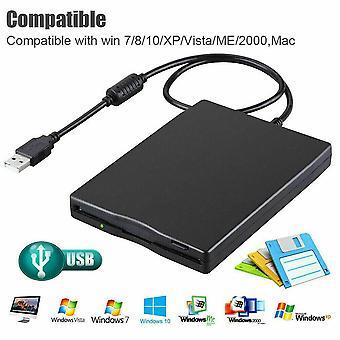 3.5inch USB External Portable Floppy Disk Drive Diskette for Laptop